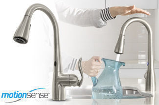 Moen Arbor&trade; Pulldown Kitchen Faucet with MotionSense&trade;